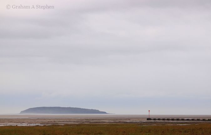 Puffin Island from Morfa Aber