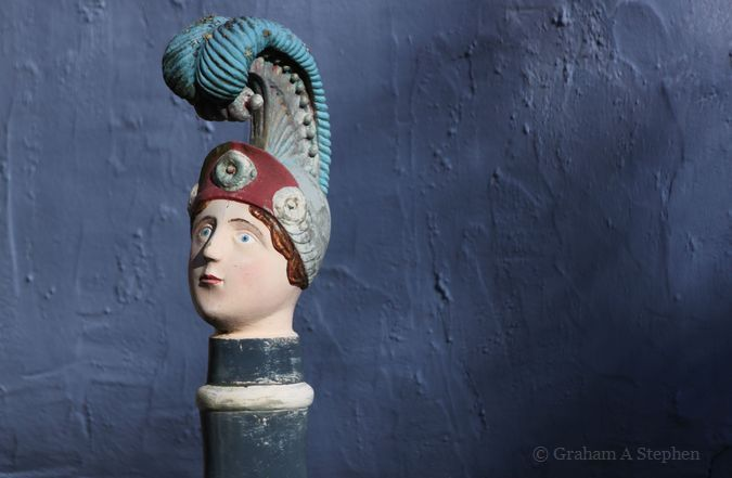 Petrol Pump Figurehead