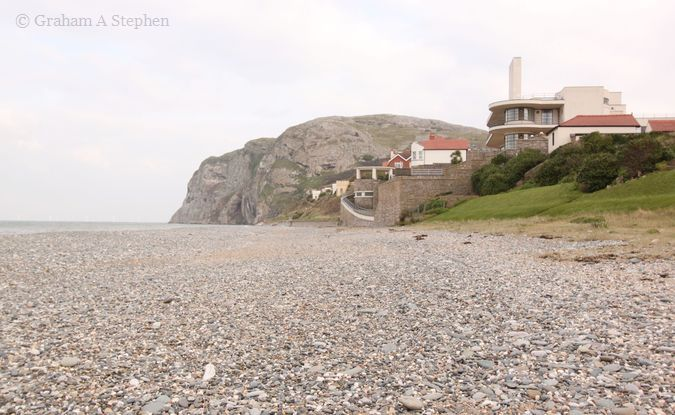 Villa Marina with the Little Orme in the background