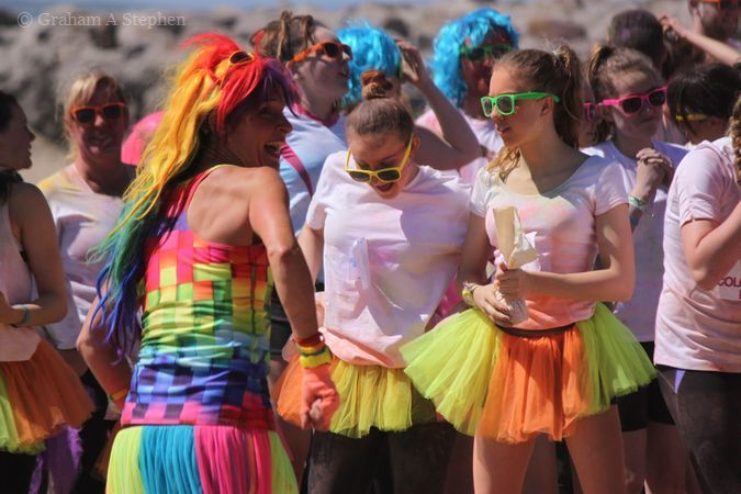 Colour Run, Llandudno