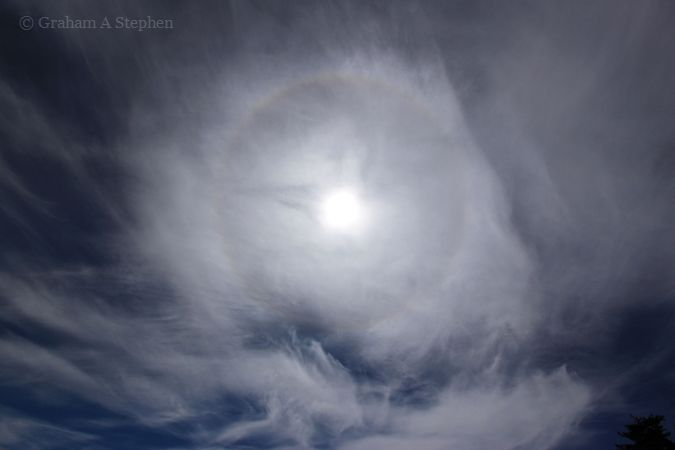 22° Halo from Newborough Forest