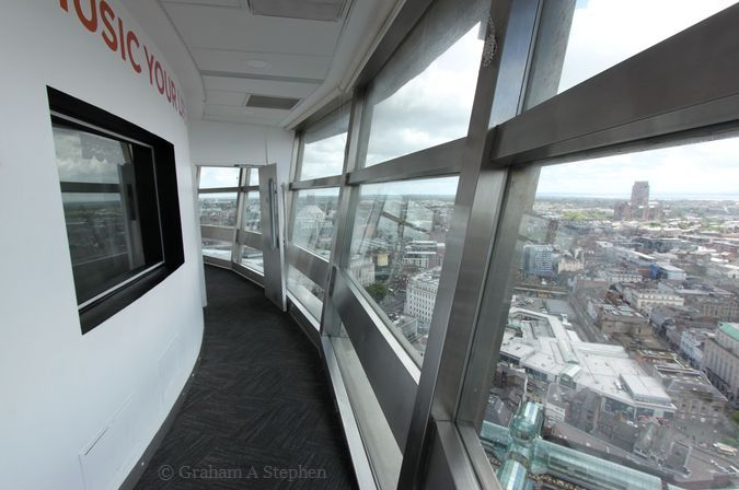 St John's Beacon viewing gallery