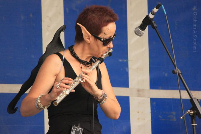 Live music on the 'Dragon Stage'