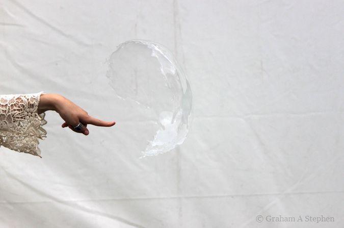 Bursting the bubble!