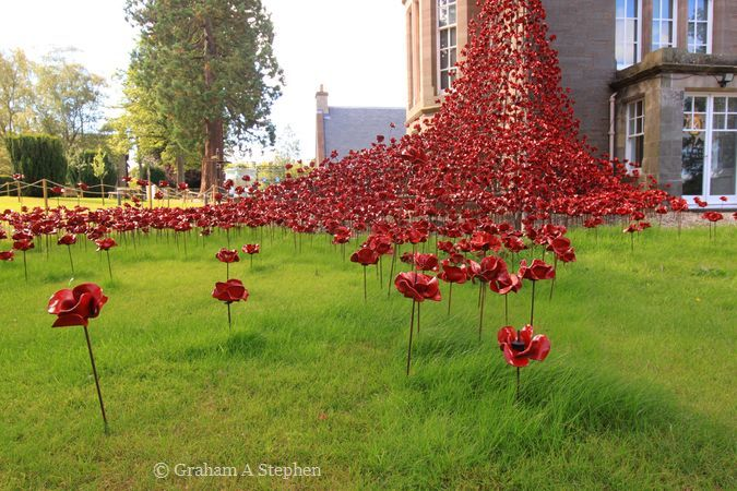 Weeping Window, Black Watch Castle and Museum