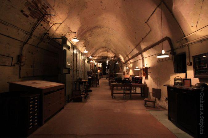Secret wartime tunnels