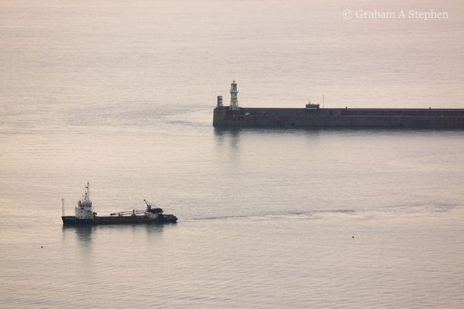 Dover Strait from Dover Castle