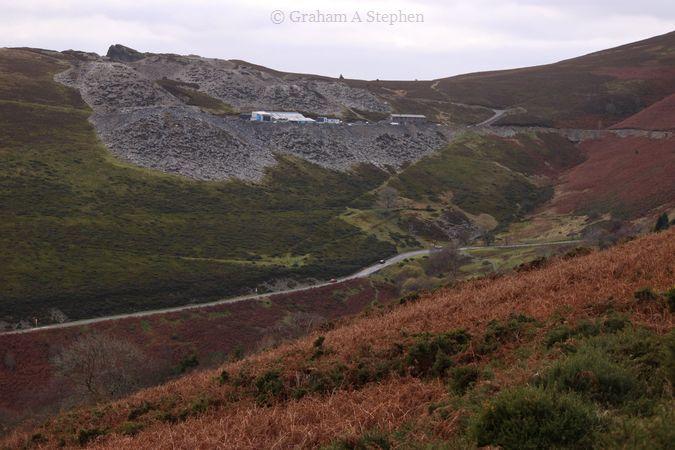 Berwyn Slate Quarry, Horseshoe Pass, Llangollen