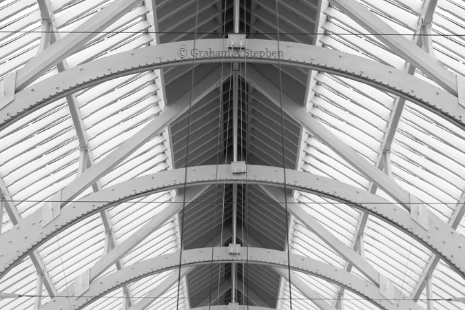 Grand Gallery glass roof