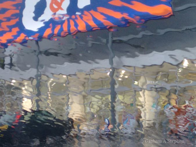 B&M in the rain